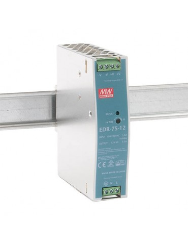 EDR-75-12 Meanwell DIN Rail