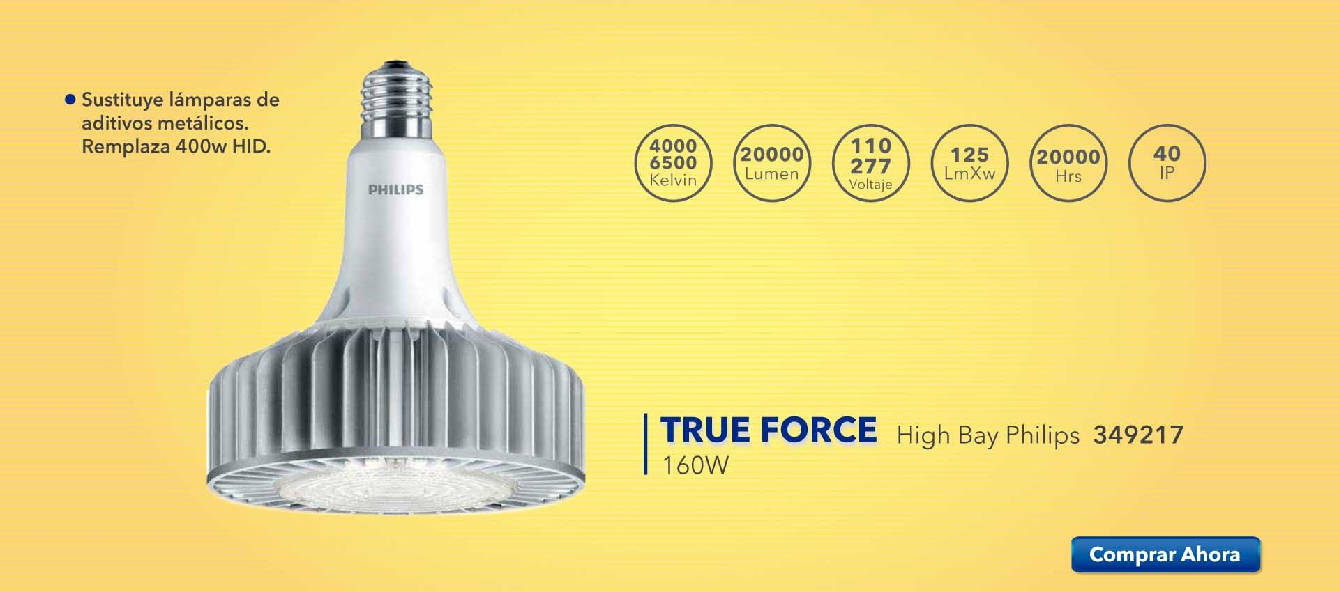 True Force 160w Philips