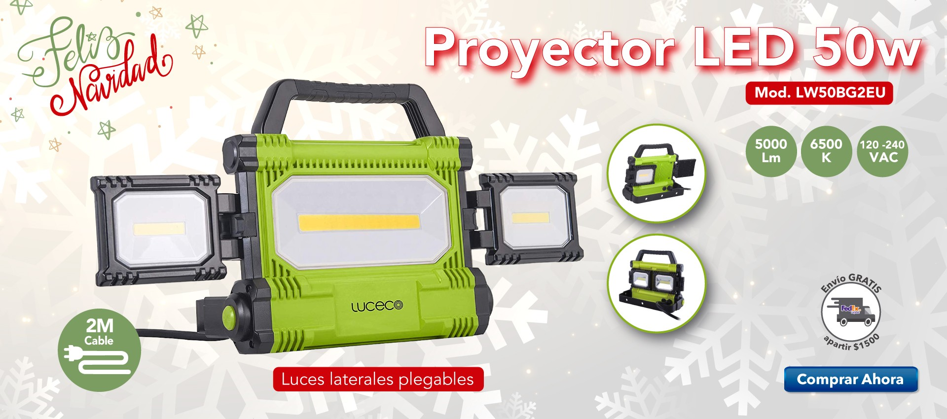 Proyector LED Worklight 50w